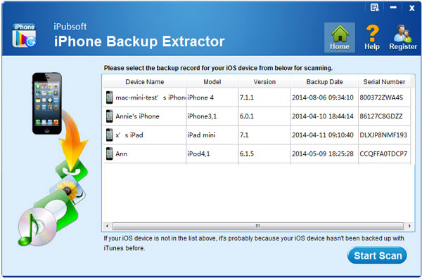 Top 3 Best iPhone Backup Extractor for Win/Mac Review