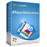 iPubsoft iPhone Backup Extractor Box