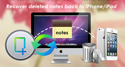 Recover Deleted Notes Back to iPhone