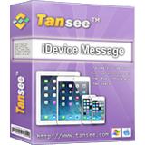 Tansee iPhone/iPad/iPod SMS/MMS/iMessage Transfer Box
